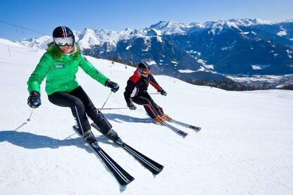 Jazda na nartach w ośrodku Rosskopf