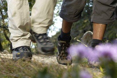 """Path """"Rittersteig"""" Naturno"""