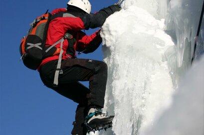 Wspinaczka po lodzie na Palla Bianca/Weißkugel