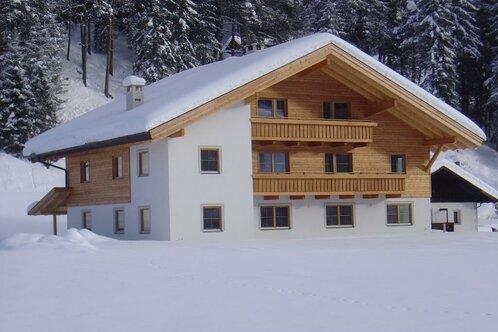 Fluenerhof im Winter
