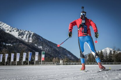 Biathlon im Antholzertal