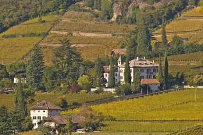 Stately residences in the wine village of Terlano