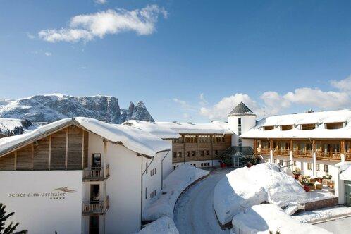 Hotel Urthaler in the winter