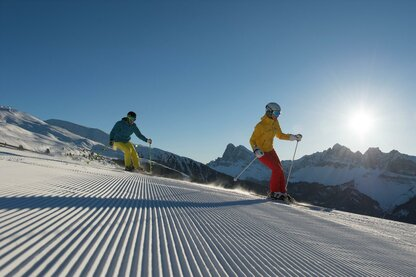 Skiën in skigebied Plose in Valle Isarco