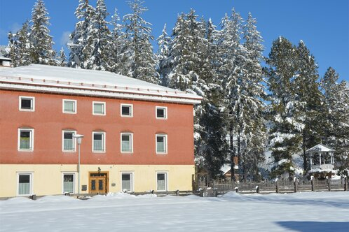 Villa Vidal  in winter