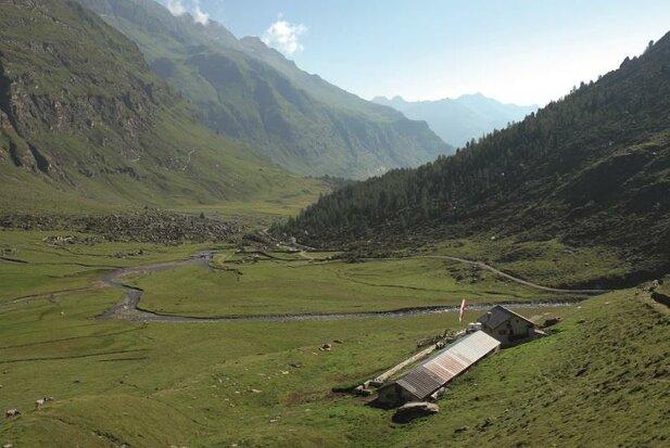 Alpine hut Lazinser Alm