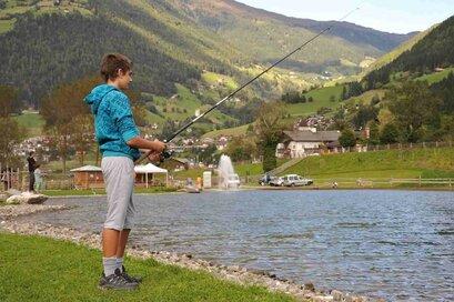 Stagno per la pesca presoo il Sandhof