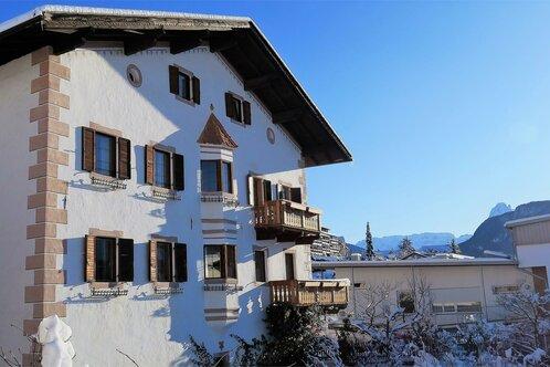 Val Gardena Apartments Tschutscherhof Lajen Winter