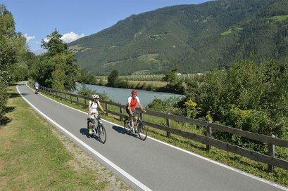 Ciclabile lungo l'Adige via Claudia Augusta - Naturno