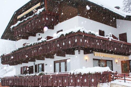Garni Steinerhof im Winter