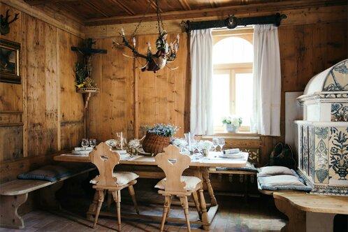 Ristorante gourmet Luisl Stube del Schlosswirt Forst