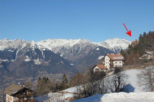 Maisonette Meraner Blick in Hafling, Südtirol