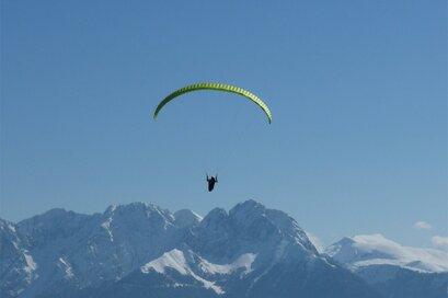 Tandemflug Paragleiten Paragliding Gleitschirmclub Texelflieger Partschins