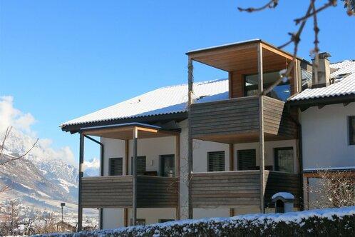 Apartments Schwarzlehen, Naturno vicino Merano, inverno, sciare