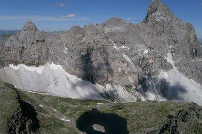 Rifugio Calciati con Lago Sandessee