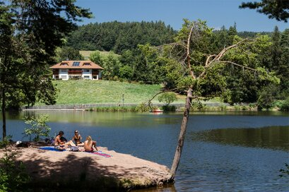Lake Costalovara Renon