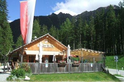 Tirolerhütte Lake Antholz