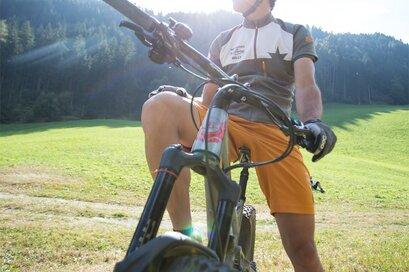 Bike tour to Valtina/Walten