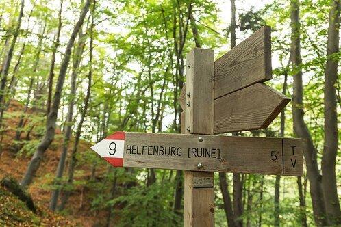 Rudere Helfenberg a San Genesio Terlano