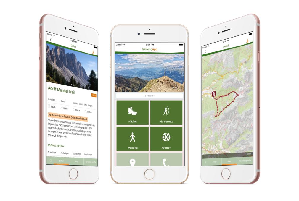 South Tyrol/Südtirol Trekking Guide